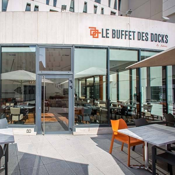 Le restaurant - Le Buffet des docks - Marseille